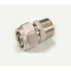 Alupex szorítógyűrűs KM ötrétegű csatlakozó 18x1/2