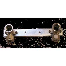 Alupex szorítógyűrűs 153-as ötrétegű szerelt falikorong 16x1/2