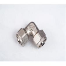 Alupex szorítógyűrűs egál ötrétegű könyök 16x16