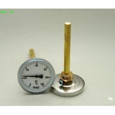 Körszámlapos hőmérő SR 100mm benyúlással