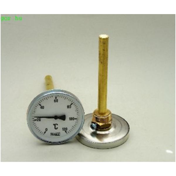 Körszámlapos hőmérő SRH 80mm benyúlással