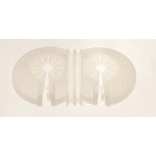 Icma dupla rozetta radiátorszelephez (108)
