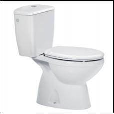Roca Zoom wc monoblokkos mélyöblítésű alsó kifolyású wc tartállyal