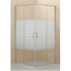 Dráva szögletes zuhanykabin (80x80)